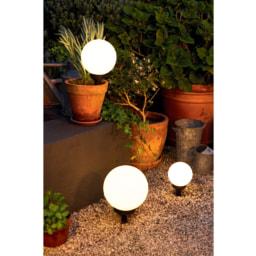 Livarno Lux® Lâmpada Esférica Solar LED