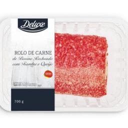 DELUXE® Rolo de Carne de Bovino com Queijo e Fiambre