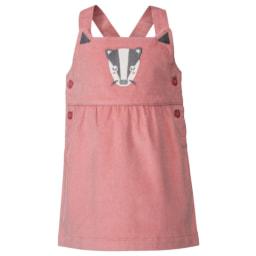 Lupilu® Vestido Algodão Orgânico para Menina