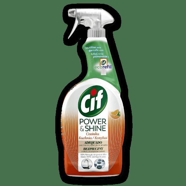 Cif Spray de Cozinha Power & Shine