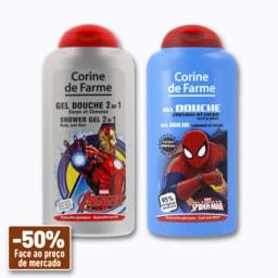 Corine de Farme Gel de Duche Spiderman/Avengers