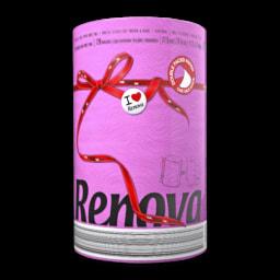 Rolo de Cozinha Red Label Fucsia Renova