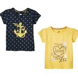 LUPILU® T-shirt para Menina 2 Unid.