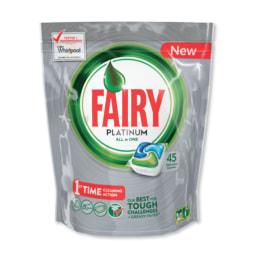Fairy® Cápsulas Platinum para Máquina da Loiça