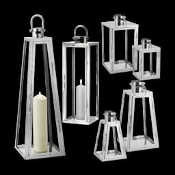 Living Art® Lanterna em Inox