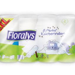 FLORALYS® Rolo de Cozinha com Desenhos XXL