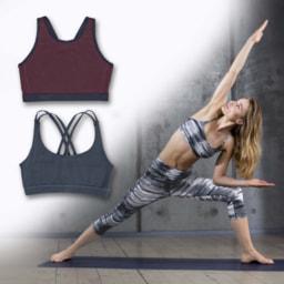 Top de Yoga Dynamic para Senhora