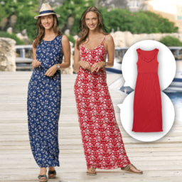 UP2FASHION® Vestido Comprido