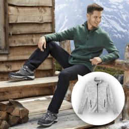 ACTIVE TOUCH® Casaco Polar para Homem