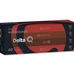 Delta Q® Cápsulas de Café Pack XL Qharacter / Intensidade