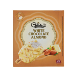 Gelatelli® Gelado de Chocolate Branco e Amêndoa