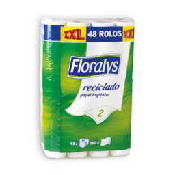 FLORALYS® Papel Higiénico Reciclado