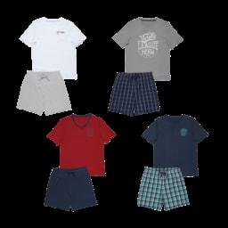ENRICO MORI® Pijama Curto de Verão