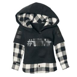 LUPILU® Camisa/Camisola de Flanela para Menino