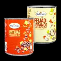 KING'S CROWN® Lentilhas/ Feijão Branco