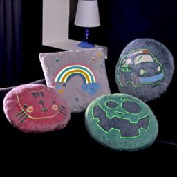 HOME CREATION KIDS® Almofada, Brilha no Escuro