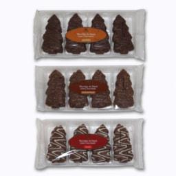 Biscoitos de Natal com Chocolate
