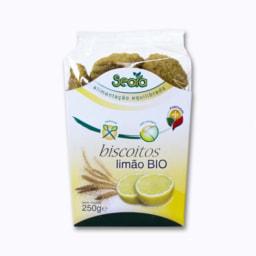 Biscoitos de Limão Biológicos