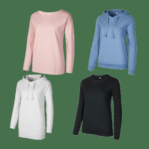 UP2FASHION® Camisola/ Sweatshirt de Lazer para Senhora
