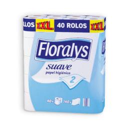 FLORALYS® Papel Higiénico 2 Folhas