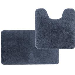 MIOMARE® Conjunto de Tapetes para Casa de Banho, 2 Peças