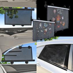 CAR XTRAS® Rolo de Proteção Solar para Veículos