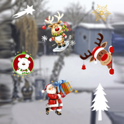Living Art® Autocolantes de Natal