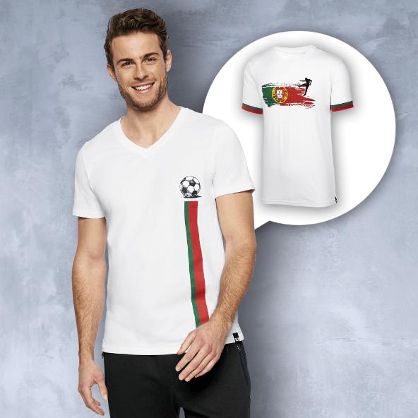 T-shirt Portugal para Homem