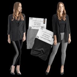 UP2FASHION® Leggings Modernas para Senhora