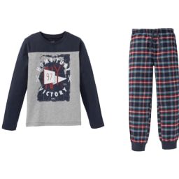 Pepperts® Pijama em Flanela para Rapaz