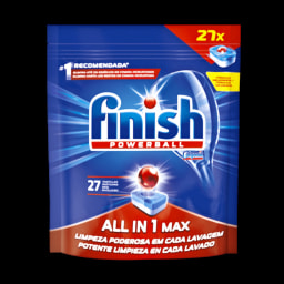 Finish Detergente Máquina da Loiça Pastilhas All in 1