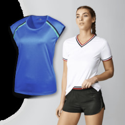 ACTIVE TOUCH® T-Shirt/ Calções de Desporto para Senhora