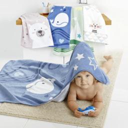 HOME CREATION® Toalha de Felpo para Criança