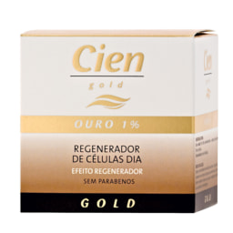 Cien Gold® Creme de Rosto Gold