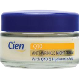 Cien® Creme de Rosto Q10 Anti-Rugas Dia/ Noite