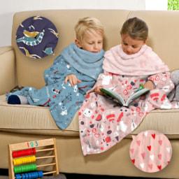 HOME CREATION® Manta com Mangas para Criança