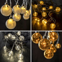 LIGHTZONE®  Bolas de Vidro LED