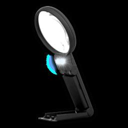 Lupa com Iluminação LED