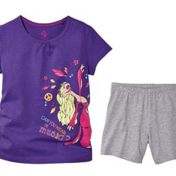 Pijama curto para menina