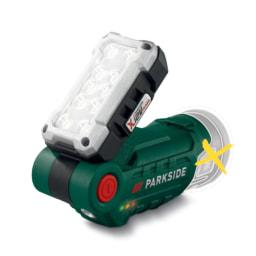 Parkside® Lanterna LED 12 V sem Bateria