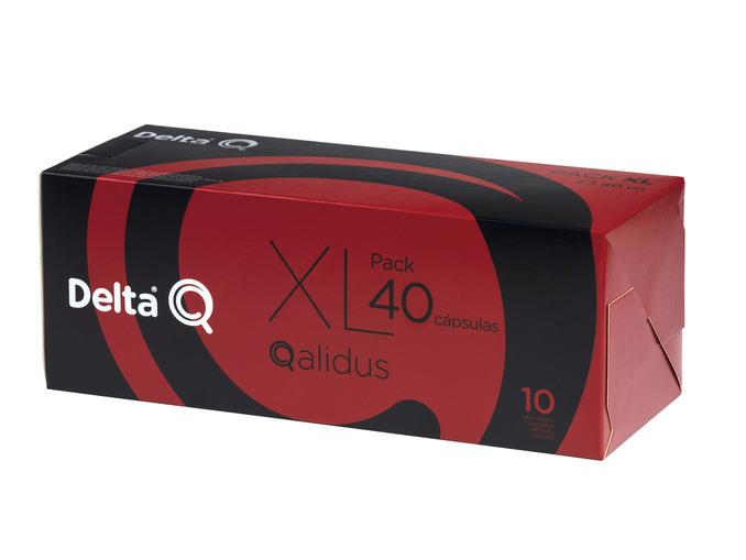 Delta Q®  Cápsulas de Café Qalidus Pack XL