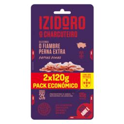 Izidoro® Fiambre Perna Extra Fatias Finas