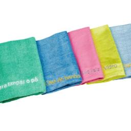 Panos de Limpeza em Microfibra