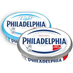 PHILADELPHIA® Queijo Creme Regular / Light Formato Familiar