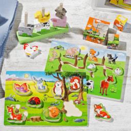 Brinquedos de Madeira para Criança