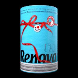 Rolo de Cozinha Red Label Azul Renova