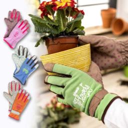 Luvas de Jardinagem para Senhora e Criança