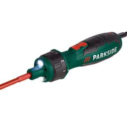 Parkside® Chave Parafusos com Pontas Bateria 4V