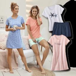 QUEENTEX® Pijama Curto/ Camisa de Noite