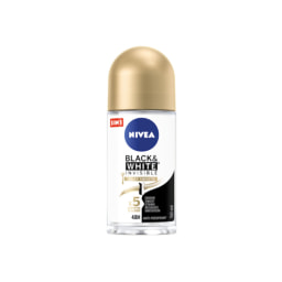 Nivea®  Desodorizante Spray / Roll-on Black & White Invisible Silky Smooth